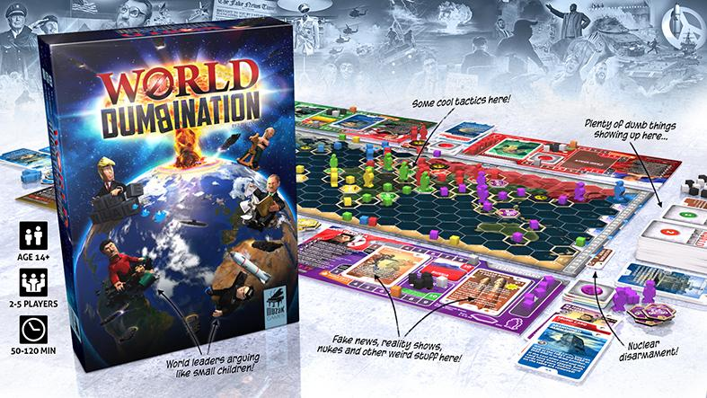 World Dumbination Kickstarter