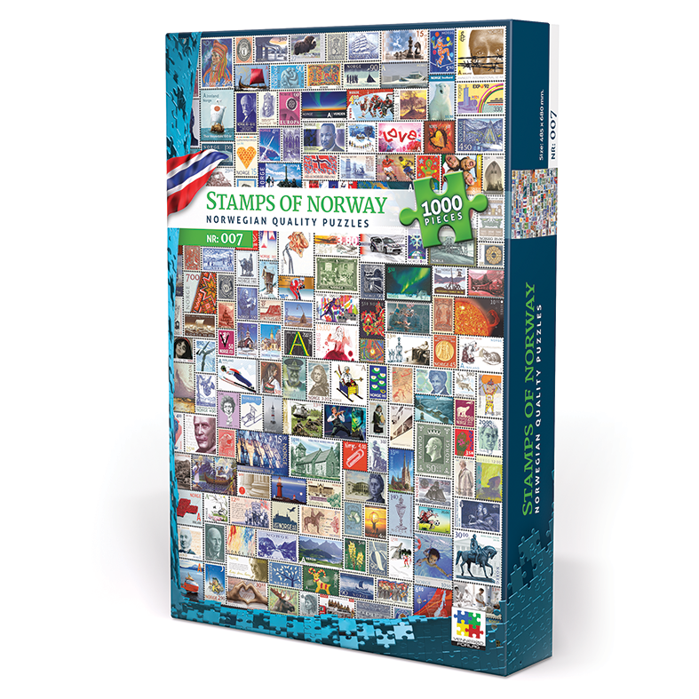 Stamps of Norway puzzle
