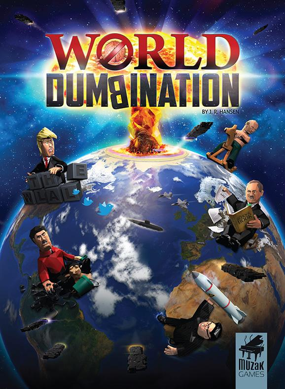World Dumbination boks front